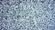 Tv Noise Real Stock Footage