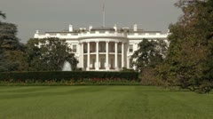 White House - stock footage