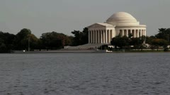 Jefferson Memorial 2 Stock Footage
