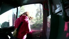 Copper canyon sierra madre mexico train Stock Footage