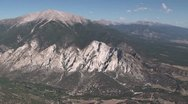 Colorado Aerial 1 Stock Footage
