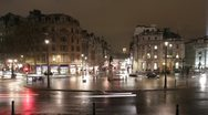 Trafalgar Square roundabout. Timelapse. 29.97fps. Stock Footage