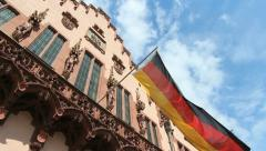 Romer, Frankfurt - stock footage