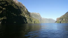 Milford Sound - stock footage