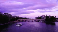 Some scenes of daily Paris Stock Footage
