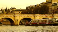 Stock Video Footage of Some scenes of daily Paris, Pont Neuf