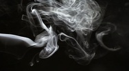 Smoke rising Stock Footage