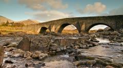 Old Highland Bridge - stock footage