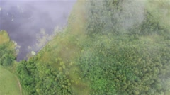 Aerial view of Suwalski Landscape Park by HeliDog_Aerials Stock Footage