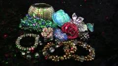 Jewelry Lights 2 - stock footage