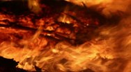 Fire Detail Clip 10 Stock Footage