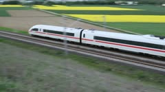 ICE Train Stock Footage