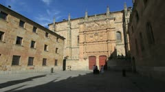 Salamanca university 4 Stock Footage