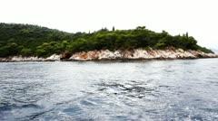 Mediterranean landscape Stock Footage