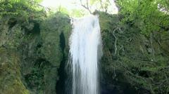 Waterfall tilt 1 Stock Footage