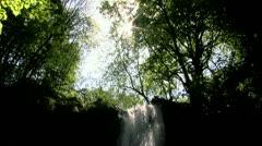 Waterfall Tilt Stock Footage