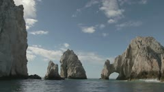 El arco cabo san lucas lands end baja california sur Stock Footage