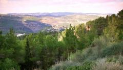 Mountains View Stock Footage