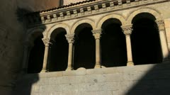 Segovia San Martin church Stock Footage