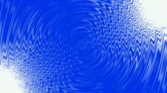 Blue water ripple & abstract crease waves. Stock Footage