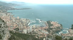 Monaco View.MP4 Stock Footage
