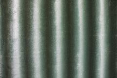 Green wavy wall texture Stock Photos