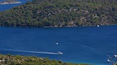 Mediterranean Coastline Stock Footage