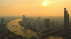 Time Lapse Bangkok Stock Footage