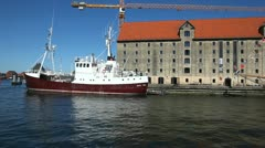 Copenhagen Harbour - stock footage