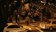 20120209 OccupyLA 0107 Stock Footage