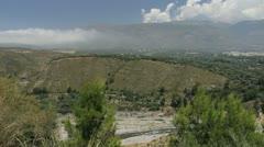 Sierra Nevada valley in Alpujarra Stock Footage