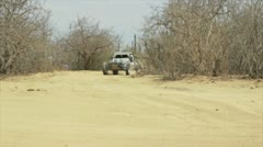 Rally car Baja Norra Stock Footage