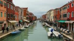 Murano, Italy. Stock Footage