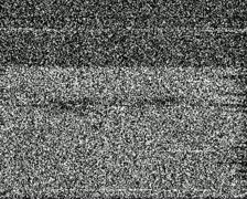 analog glitch - tv noise 01 - stock footage