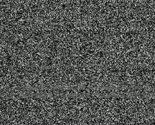 analog glitch - tv noise 02 - stock footage