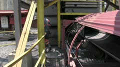 Coal Mine Employee with Mine Equipment Above Ground (HD) c Stock Footage