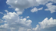 Growth of clouds fabulous Stock Footage