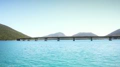 Sea Bridge Stock Footage