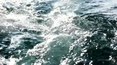 Boat trail Stock Footage