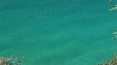 Mediterranean nature zoom out Stock Footage