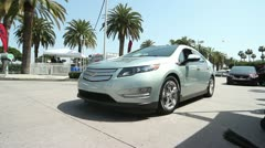 Chevrolet Volt Test Drive Stock Footage