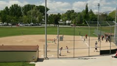 Baseball Little League 14 Stock Footage