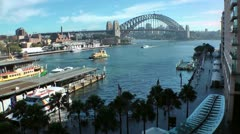 Australia - Sydney harbour bridge - stock footage