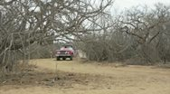 Stock Video Footage of Rally Car Baja Norra 2