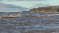 P01838 Great Lakes Shoreline - stock footage