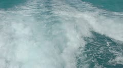 Caribbean sea water mexico Stock Footage