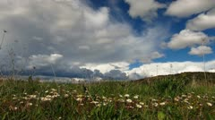 Clouds time-lapse Zoom in Stock Footage