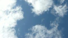 Cloud timelapse 02 Stock Footage