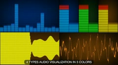 Equalizer and Waveforms Stock After Effects