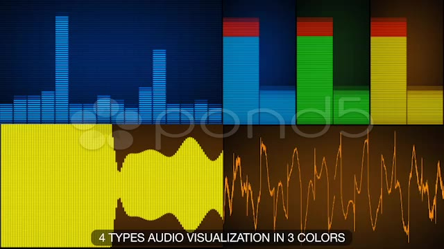 After Effects Project - Pond5 Equalizer and Waveforms 10966297